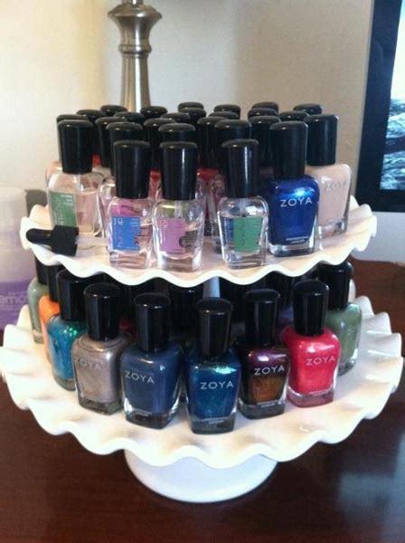 beautiful ideas  organise  nail polish jewelpie