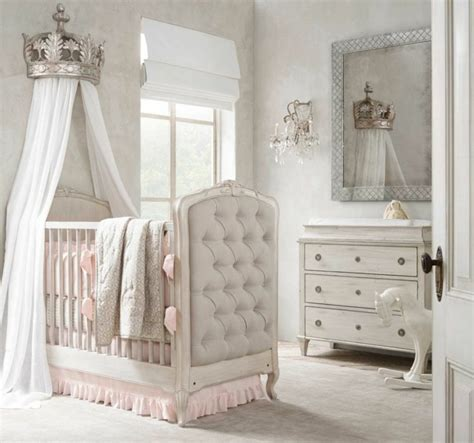 chambre princesse bebe idées déco chambre fille pour les petites princesses