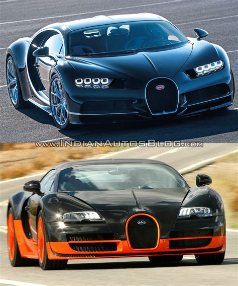 Bugatti Vs by Bugatti Chiron Vs Bugatti Veyron
