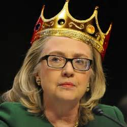 Image result for images of queen hillary clinton