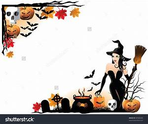 Halloween Border Corner – Festival Collections
