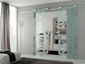 Schiebetüren Aus Glas Für Innen : glasschiebet ren moderne funktionale und elegante t ren ~ Sanjose-hotels-ca.com Haus und Dekorationen