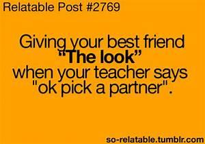 school best friend friend best friends relate relatable ...