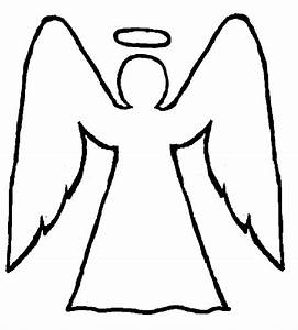 Angel Templates Clipart - Clipart Suggest