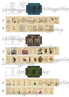 printable witch book witchs book covers craft