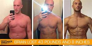 Transformation Tuesday: Brian Lost 43 Pounds with INSANITY ...