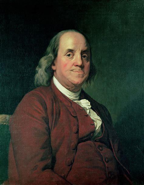 Benjamin Franklin By Joseph Wright Of Derby