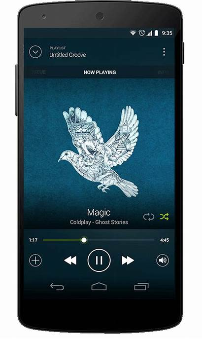 Spotify Android Redesign Behance