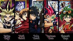 Yugioh Main Character Theme Music Compilation Duel Monsters-arc V