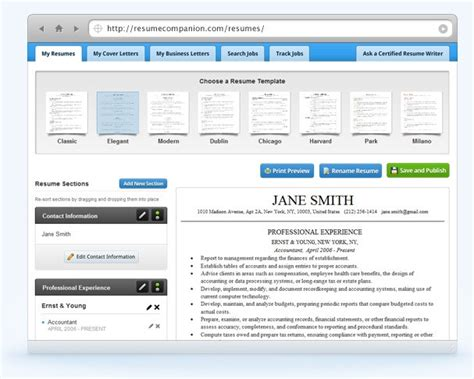 Resume Companion Review by Resume Companion Alternatives And Similar Websites And