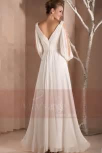 robe de mariã e blanche robe blanche de soirée maysange