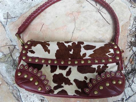 Gianni Bini Leather And Cowhide Purse