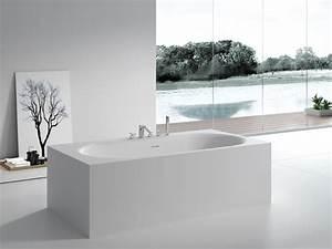 Freistehende Badewanne Mineralguss : freistehende badewanne sassari aus mineralguss wei ~ Michelbontemps.com Haus und Dekorationen