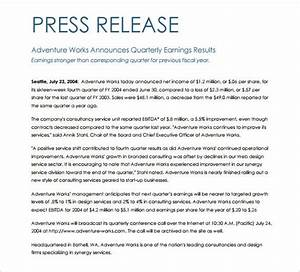 press release template 29 free word excel pdf format With conference press release template