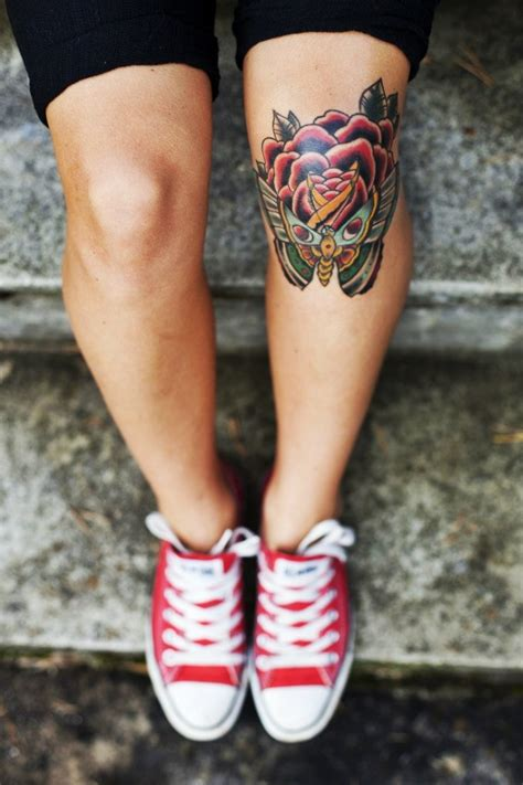 knee tattoo designs images  pictures