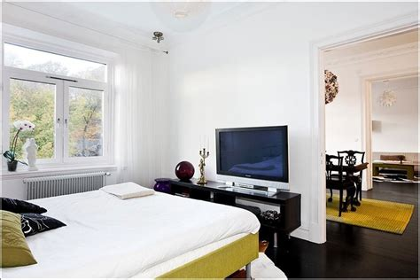 bedroom design with lcd tv techy white bedroom with lcd tv interior design ideas