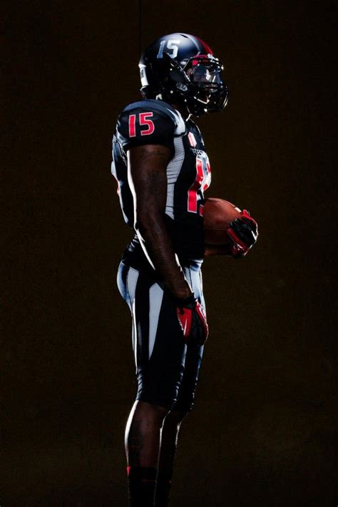 fresno state bulldogs  black  football uniforms