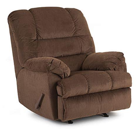 view simmons bebop chocolate rocker recliner deals at big