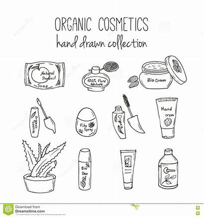 Skin Care Illustration Cosmetic Spa Organic Vector