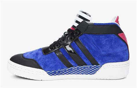 blue striped courtside mens sneakers upscalehype