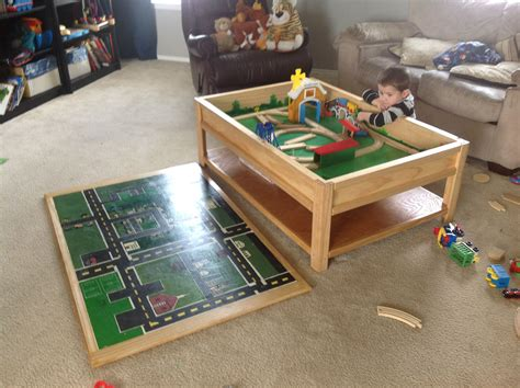 train car table    home projects  ana white diy plans tutorial kids