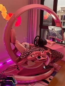 otaku, u0026, 39, s, pink, setup