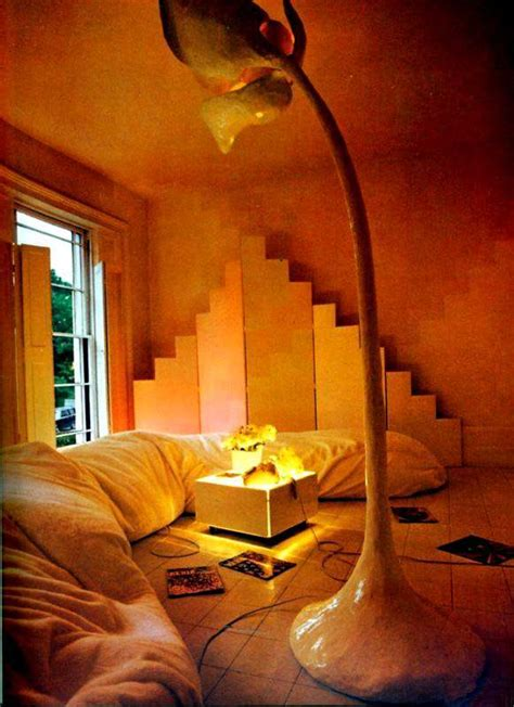 fab  funky living rooms   seventies