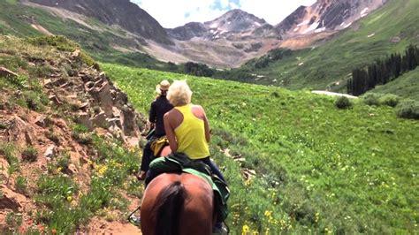 colorado riding horseback