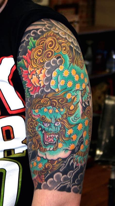 ideas  foo dog  pinterest foo dog tattoo