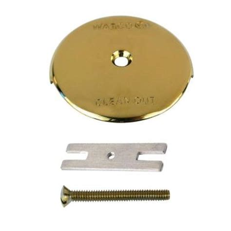 Bathtub Overflow Plate Adapter Bar by Watco 1 Bathtub Overflow Plate Kit Polished Brass