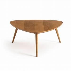 Table Basse Retro : table basse vintage ch ne moyen quilda ch ne la redoute interieurs la redoute ~ Teatrodelosmanantiales.com Idées de Décoration