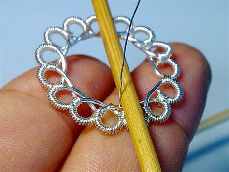 Create Beautiful Wire Crochet With No Special Tools! Tiffany Jewelry Dublin Bridal Gold Images Outlet Clearance Kohls Pakistani Overpriced Wedding Nyc Palm Springs