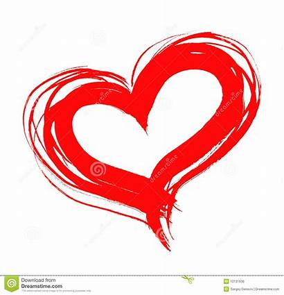 Heart Cuore Rosso Clip Clipart Drawn Drawing