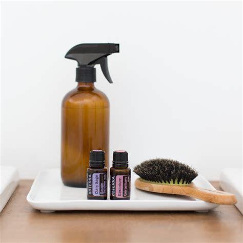 diy heat protectant spray doterra essential oils
