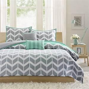 Intelligent, Design, Nadia, Teal, Comforter, Set
