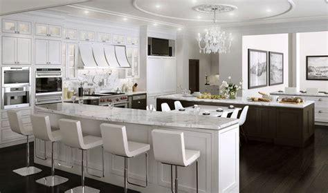 cuisine de luxe design cuisine blanche 36 idées de luxe pour une cuisine design