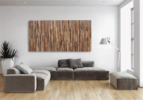 made reclaimed wood wall made of barnwood different sizes available by