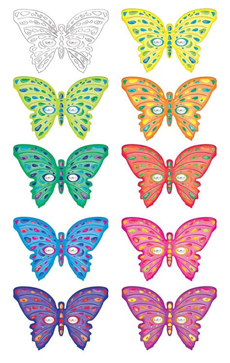 printable butterfly masks coolest  printables