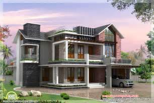 The Villa Home Design by 2 Beautiful And Different Villa Elevations Kerala Home