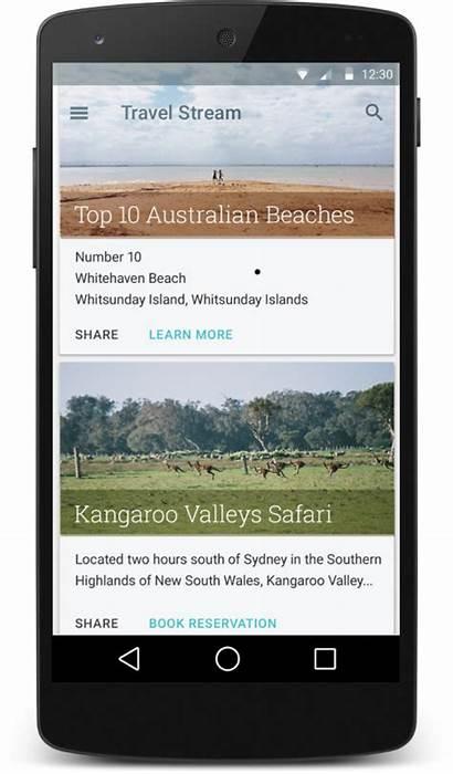 Android Material Cardview Card Developer Menampilkan Widget