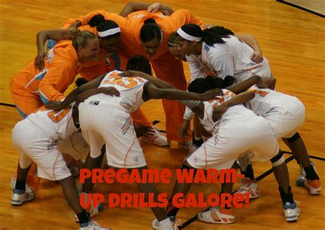 basketball drills pregame game players ready effective