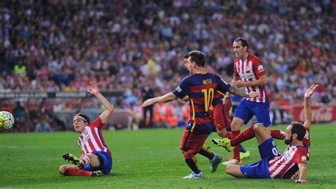 Atletico Madrid vs. Barcelona - Football Match Report ...