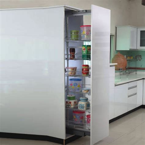apple stainless steel kitchen tall unit rs  unit