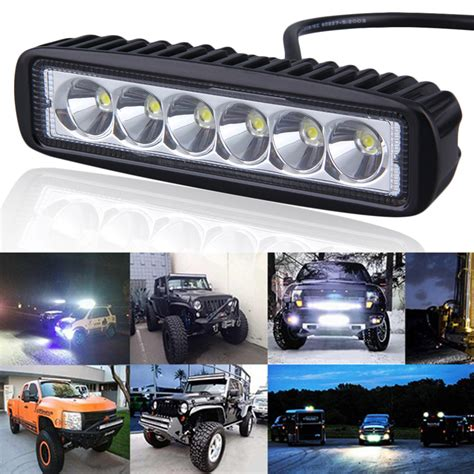 funny led truck light bar aliexpress com buy 6 inch mini 18w led light bar 12v 24v