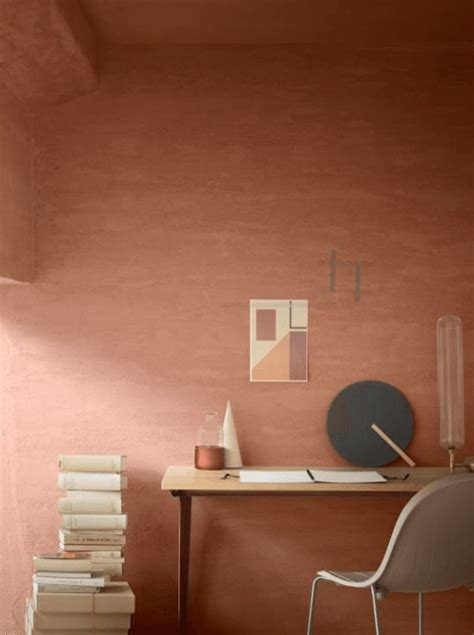 Terracotta Farbe Wand by Terracotta Wall Paint Graduated Paint Soft Tones