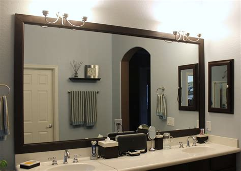 Bathroom Mirror Frame Ideas by Diy Bathroom Mirror Frame Bathroom Ideas