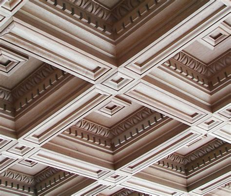 Coffered Ceiling Panels by Decorative Coffered Vaulted Tin Ceiling Tiles Ceiling