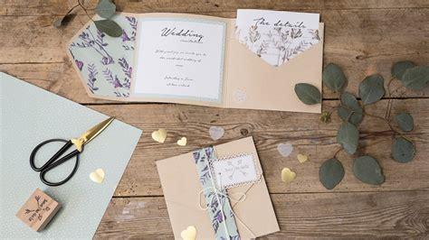 diy homemade wedding invitations  sostrene grene youtube