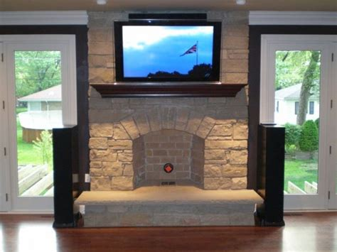 above tv tv over fireplace pictures and ideas