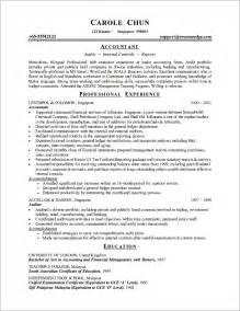 best exle of chronological resume sle chronological resume